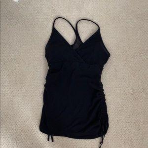 Lululemon black v neck style top